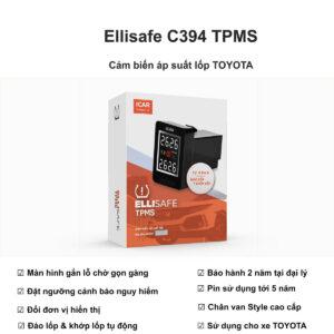 Cảm biến áp suất lốp xe Toyota tại Hải Dương