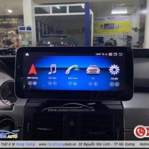 màn hình android cho xe mercedes